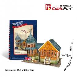 Puzzle 3D Domki Świata Wielka Brytania VILLA