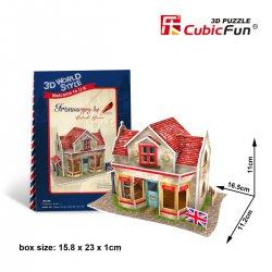 Puzzle 3D Domki Świata Wielka Brytania HARDWARE SHOP