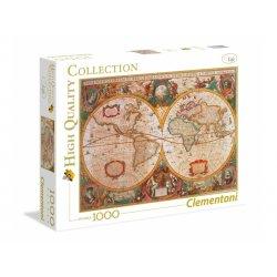 Puzzle 1000 el. HQ - Stara mapa