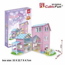Puzzle 3D Domek dla Lalek