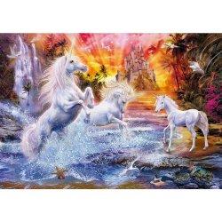 Puzzle 1500 el. HQ - Wild Unicorns