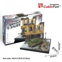 Puzzle 3D Czołg T34/85