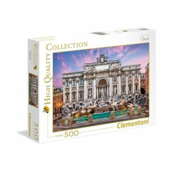 Puzzle 500 el. HQ - Trevi Fountain