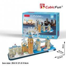 Puzzle 3D City Line LONDON