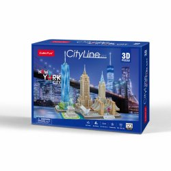 Puzzle 3D City Line NEW YORK