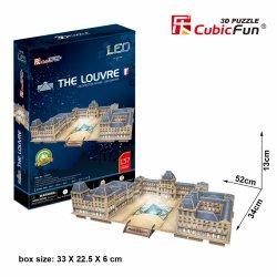 Puzzle 3D PAŁAC LUWR LED