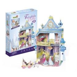 Puzzle 3D Domek dla lalek Fairytale Castle
