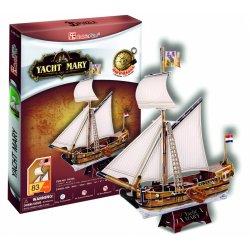 Puzzle 3D Żaglowiec JACHT MARY