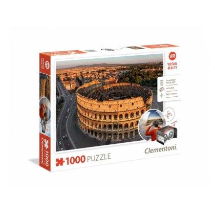 Puzzle 1000 el. Virtual Reality: Rzym