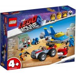 LEGO 70821 Warsztat Emmeta i Benka
