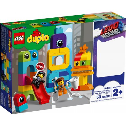 LEGO DUPLO 10895 Emmet and Lucy's Visitors from the DUPLO® Planet