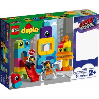 LEGO DUPLO 10895 Goście z planety DUPLO® u Emmeta i Lucy