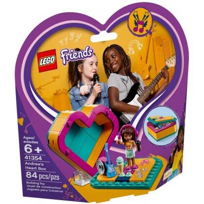 LEGO 41354 Pudełko w kształcie serca Andrei