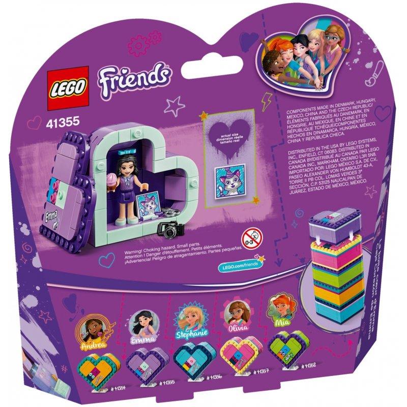 Lego 41355 Emmas Heart Box Lego Sets Friends Mojeklocki24