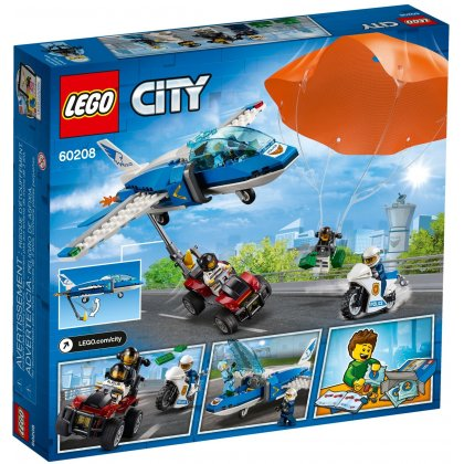LEGO 60208 Aresztowanie spadochroniarza