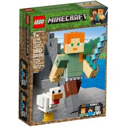 LEGO 21149 Minecraft™ Alex BigFig with Chicken