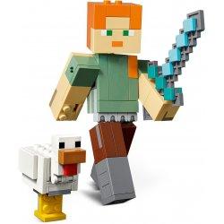 LEGO 21149 Minecraft BigFig — Alex z kurczakiem