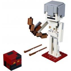 LEGO 21150 Minecraft BigFig — szkielet z kostką magmy