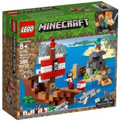 LEGO 21152 Przygoda na statku pirackim