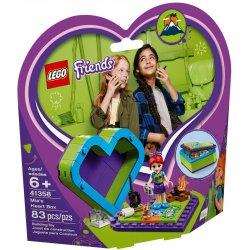 LEGO 41358 Pudełko w kształcie serca Mii