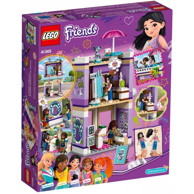 Lego 41365 Emmas Art Studio Lego Sets Friends Mojeklocki24