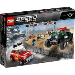 LEGO 75894 1967 Mini Cooper S Rally and 2018 MINI John Cooper Works Buggy