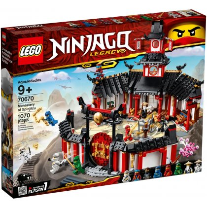 LEGO 70670 Klasztor Spinjitzu