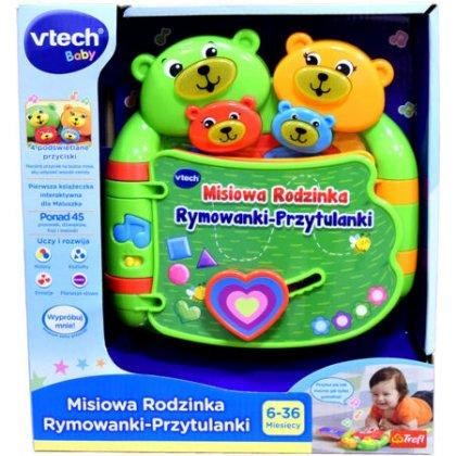 VTech - Misiowa Rodzinka. Rymowanki-Przytulanki 60993