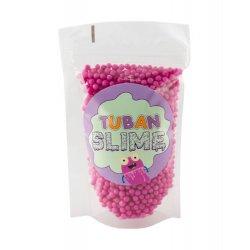 TUBAN - Kulki styropianowe fuksja slime