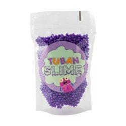 TUBAN - Kulki styropianowe fiolet slime