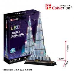 Puzzle 3D BURJ KHALIFA LED