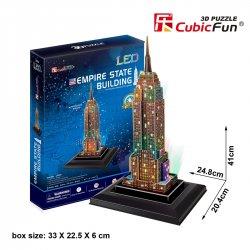 Puzzle 3D WIEŻOWIEC EMPIRE STATE LED