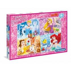 Puzzle Maxi 30 el. Księżniczki