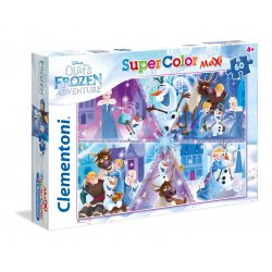 Puzzle MAXI 60 el. Olaf's Adventure Frozen SuperColor