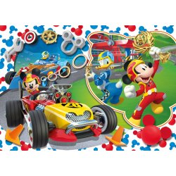 Puzzle Maxi 104 el. Mickey and the Roadster Racers SuperColor