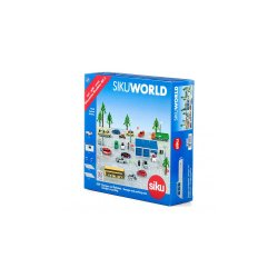 Siku World: Garages and parking area with vehicle 5589