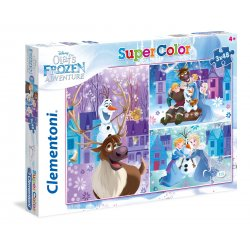 Puzzle 3w1 - 3x48 el. Olaf's Adventure SuperColor