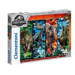 Puzzle 104 el. Jurassic World SuperColor