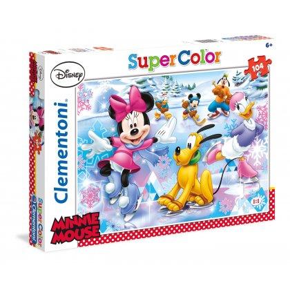 Puzzle 104 el. Minnie Sport SuperColor