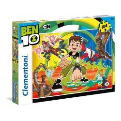 Puzzle 104 el. Ben 10 SuperColor