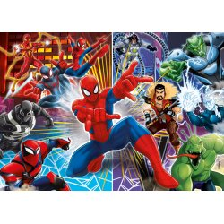 Puzzle 60 el. Spiderman vs Sinister 6 SuperColor