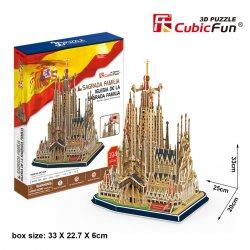 Puzzle 3D KATEDRA SAGRADA FAMILIA