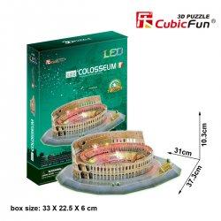 Puzzle 3D KOLOSEUM LED
