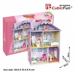 Puzzle 3D Domek dla Lalek LITTLE ARTIST'S