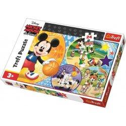 Puzzle MAXI 24 el. Disney Czas na sport