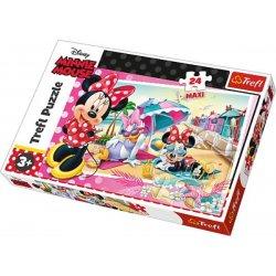 Puzzle MAXI 24 el. Wakacje Minnie