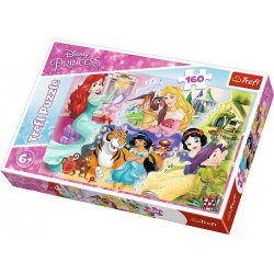 Puzzle 160 el. Księżniczki i przyjaciele
