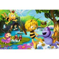 Puzzle 100 el. Pszczółka Maja i przyjaciele