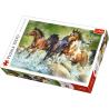 Puzzle 1500 el. Trzy dzikie konie