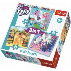 Puzzle 3w1 My Little Pony